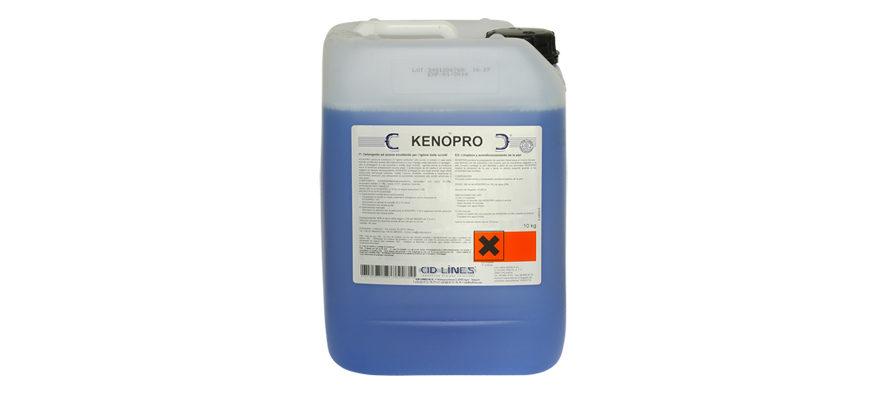 Keno Pro</br> <span style='color:#eb8212; font-size:18px'>Detergente ad azione idratante, emolliente e tonificante per l'igiene delle scrofe </span>