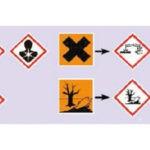 Simboli pericolo, rischio chimico, CLP
