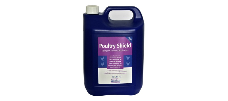 Poultry-Shield: detergente multiuso depolimerizzante