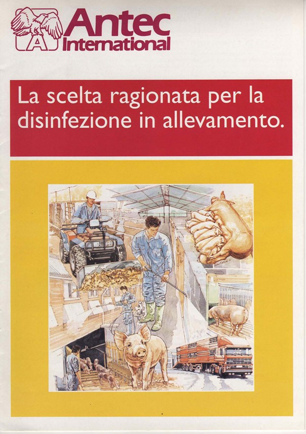 Antec International: la scelta ragionata per la disinfezione in allevamento