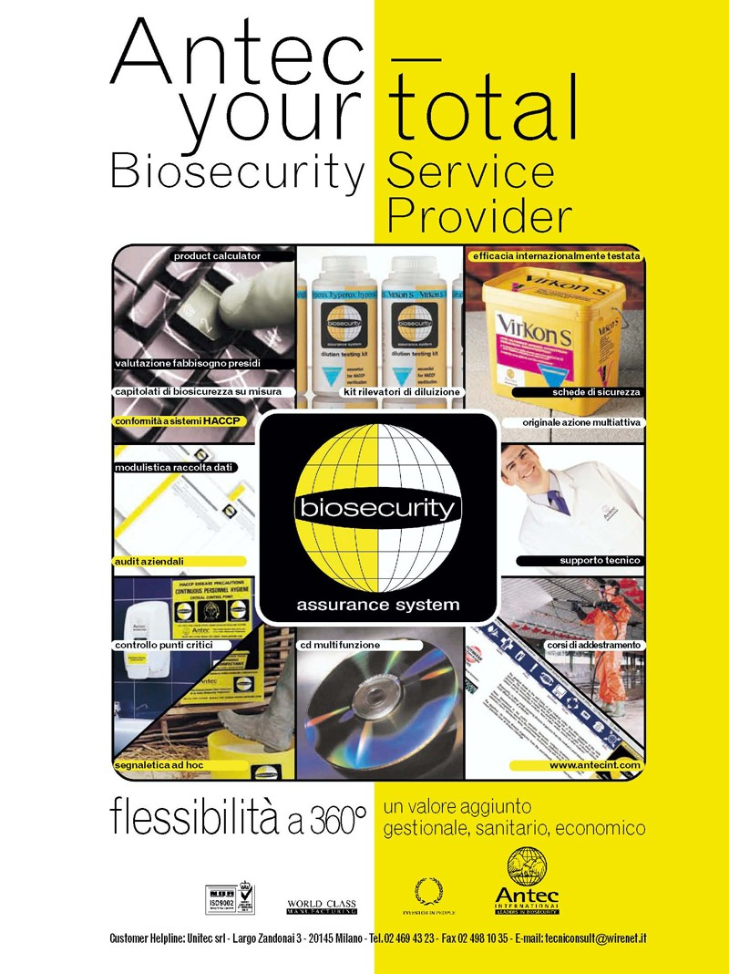 Antec your total biosecurity service provider