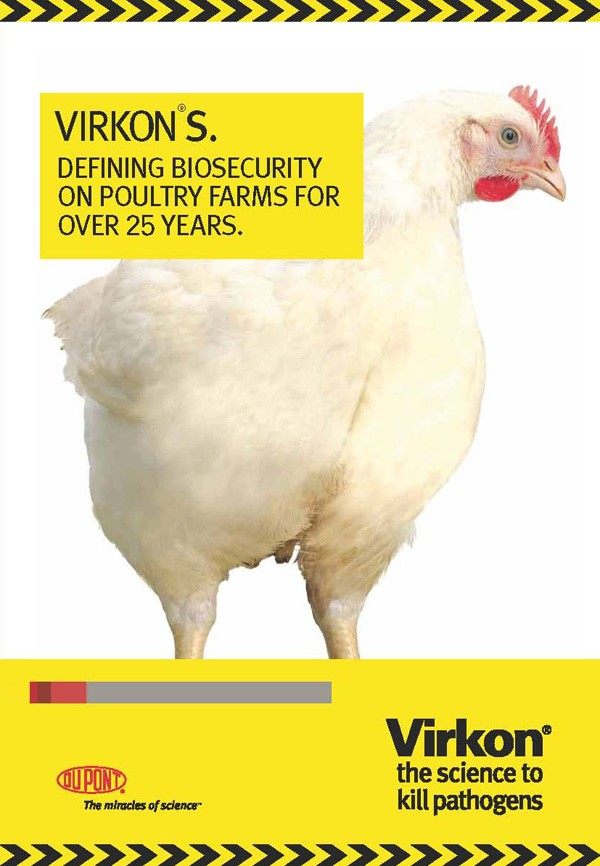 Virkon S defining biosecurity on poultry farms for over 25 years