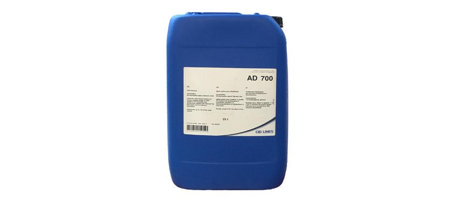 AD 700</br> <span style='color:#eb8212; font-size:18px'>Coadiuvante Nebbiogeno per i trattamenti di Termonebulizzazione </span>