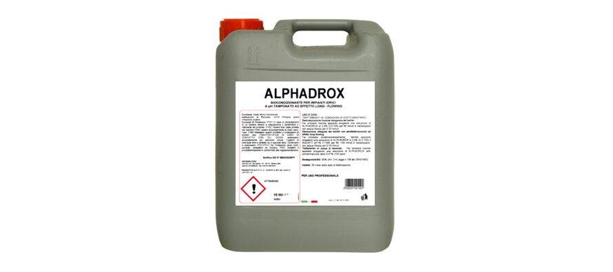 Alphadrox</br> <span style='color:#eb8212; font-size:18px'>Biocondizionatore long flowing a pH tamponato e profilo reologico modificato </span>