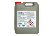 """Aquafit 1148</br> <span style='color:#eb8212; font-size:18px'>Biossidante a formulazione stabilizzata """"dual action"""" per la rimozione di biofilm negli impianti idrici </span>"""