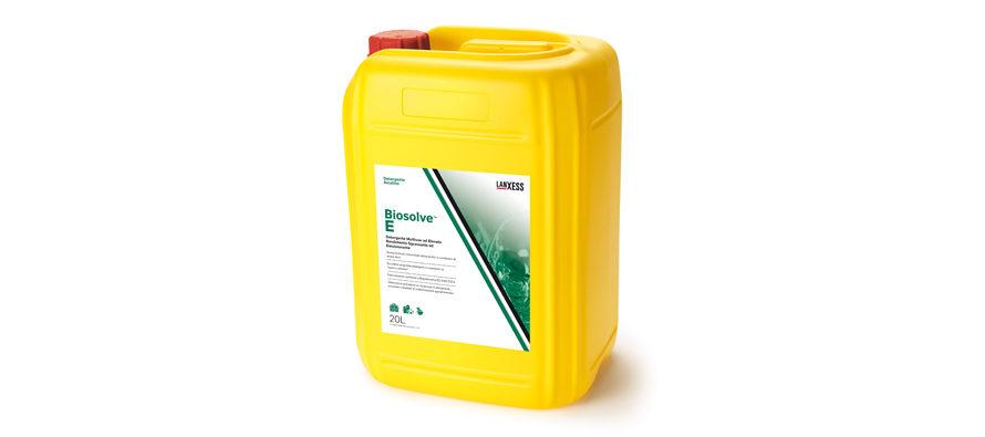 Biosolve E</br> <span style='color:#eb8212; font-size:18px'>Detergente multiuso ad elevato rendimento sgrassante ed emulsionante </span>