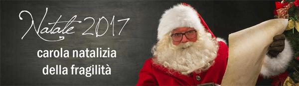 Natale 2017: carola natalizia della fragilità