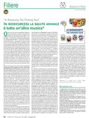 In biosicurezza la salute animale è tutta un'altra musica