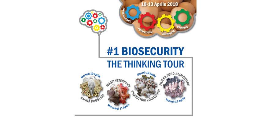 """#1 Biosecurity The Thinking Tour: """"Quattro Giorni di Roadshow"""" con Jean-Pierre Vaillancourt"""