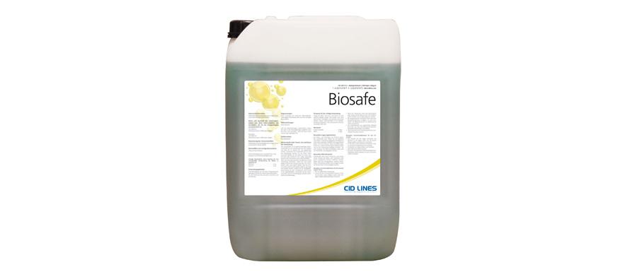 """Biosafe: Detergente per automezzi a pH alcalino, qualità """"Food Grade"""" e certificazione di non corrosività"""