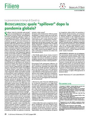 """Biosicurezza: quale """"spillover""""dopo la pandemia globale?"""