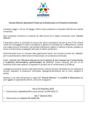 DECRETO RILANCIO COVID-19