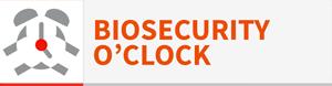 pulsante biosecurity o'clock
