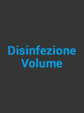 disinfezione volume