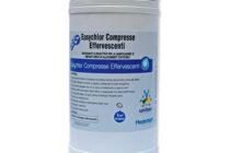 Easychlor Compresse Effervescenti – PMC REG. MINSAL N.20373</br> <span style='color:#eb8212; font-size:18px'>Disinfezione di cisterne, tubazioni e abbeveratoi degli impianti idrici in uso negli allevamenti zootecnici </span>