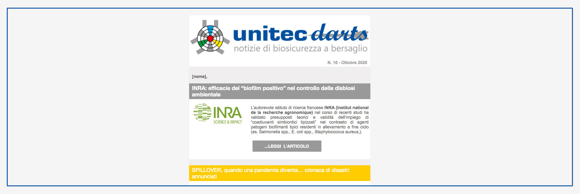 unitec ultima newsletter