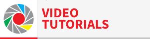 pulsante video tutorials